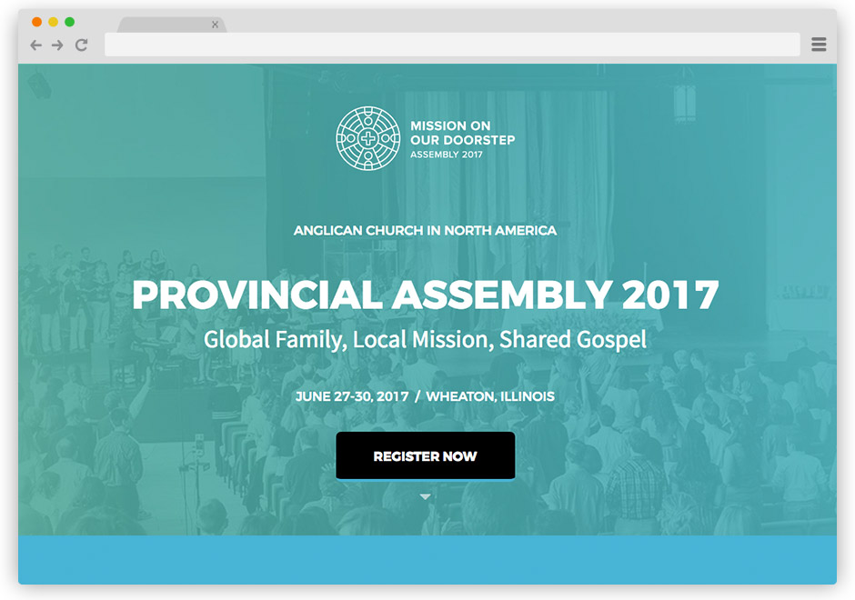 ACNA Assembly 2017 Website