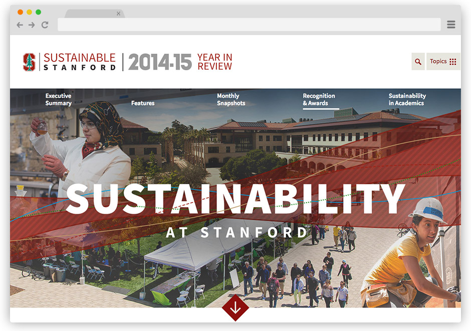 Stanford Sustainability Website
