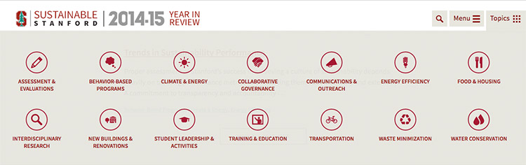Stanford Sustainability Year in Review
