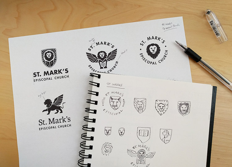 St. Marks Logo Progress