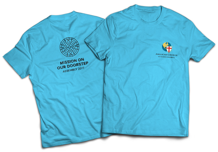 ACNA Assembly 2017 T-shirts