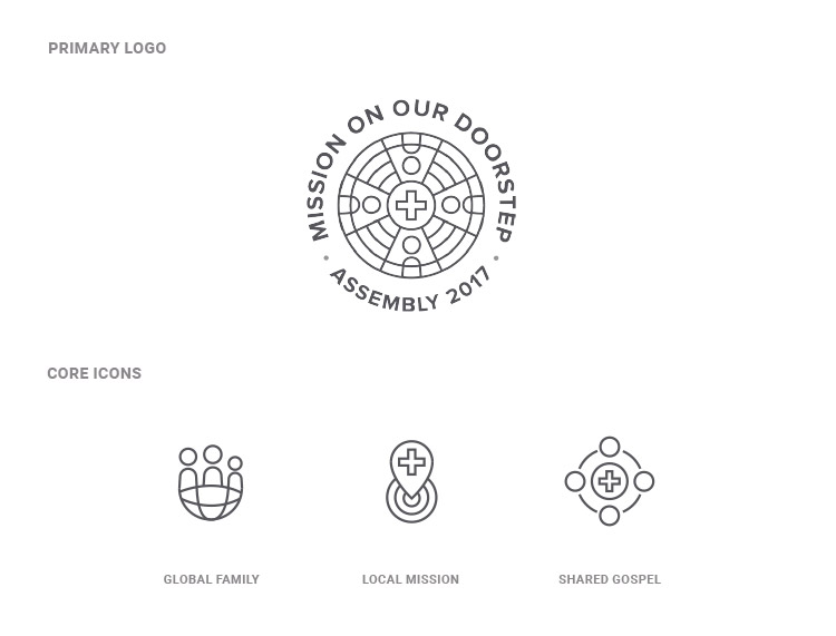 ACNA Assembly 2017 Logo and Icons